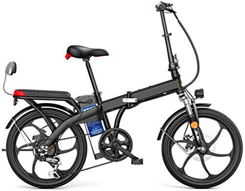 Alta velocidad 20' plegable / Carbono Material Acero Ciudad de bicicleta eléctrica asistida eléctrica deporte de la bicicleta de montaña de la bicicleta 7 El cambio de sistema con la batería de litio