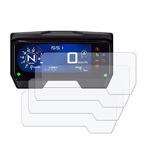 X-ADV 2017 Displayschutzfolie Tachoschutzfolie 2 x Ultra Klar /& 2 x Entspiegelt