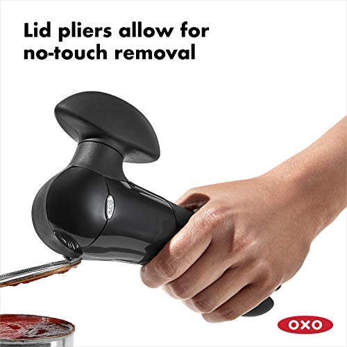 Product Image 5:  OXO 1049953 Can Opener, Stainless Steel Blade, Smooth Edge, Black