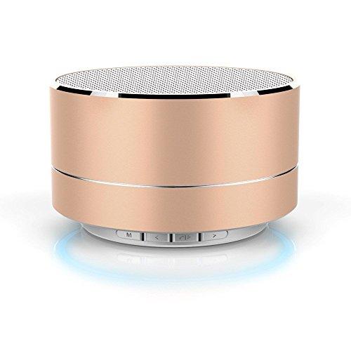 Altoparlante Bluetooth, mini scrivania con microfono, porta USB e TF, lavora per Ipad, Iphone, Samsung, Huawei e altri lettori di musica