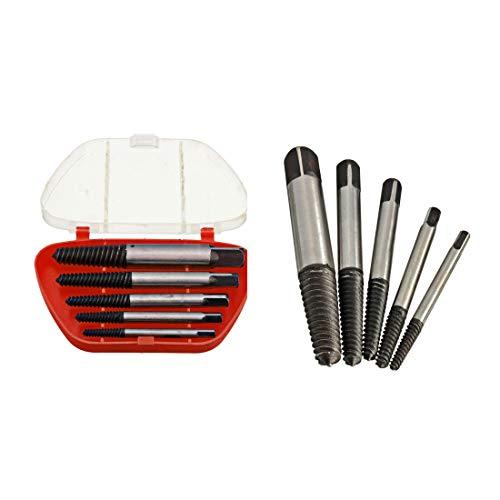 Kit extractor OriGlam para tornillos rotos o dañados con 5 brocas de 3-19mm