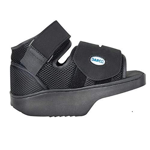 Darco Darco Orthowedge Schuh, medizinischer / chirurgischer Schuh, reduziert den Druck vom Fuß, heilt den Schuh, fördert eine schnellere Heilung und Regeneration, verstellbare Träger, Medium