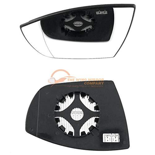 Lado Derecho Ala Gran Angular Cristal Espejo Para Ford Galaxy 1995-2006 climatizada