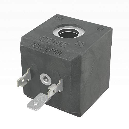 CEME 688 magneetventielspoel 230 V/50 Hz 17 VA/voor strijkstation, stoomreiniger