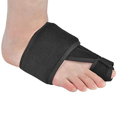 SALUTUYA Diseño ergonómico Hallux Valgus Cinturón Correcto Espuma Juanete Cinturón Correcto Dedos del pie Equipo de protección, para una corrección eficaz del Dedo del pie Fijación Manga Equipo de