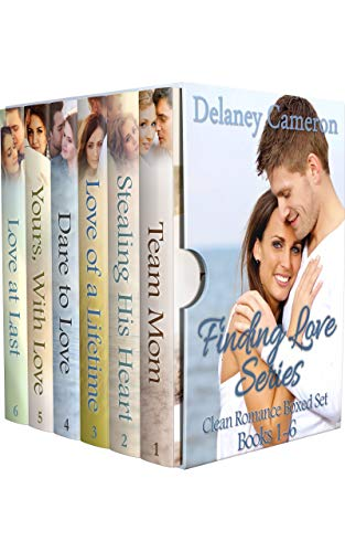 Finding Love Series Clean Romance Boxed Set by Delaney Cameron ebook deal
