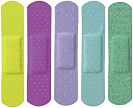 Curad NON256131 Neon Adhesive Bandages, 3/4