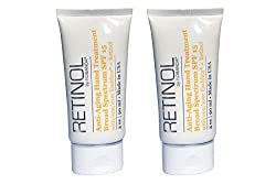 top 10 robanda hand cream Robandaretinol Anti-Aging Hand Care – Wide Spectrum SPF 15 + Retinol, 2 Packs