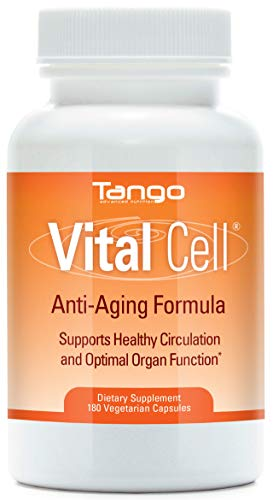Vital Cell Advanced Anti Aging Formula: All-Natural Herbal Supplement for Circulation Support and Healthy Organ Function