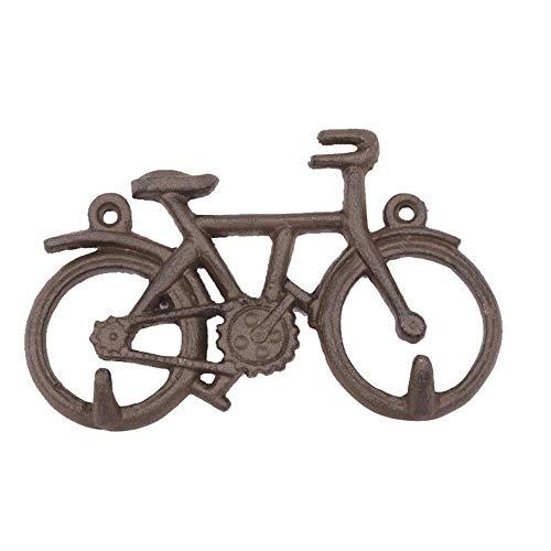 Türruf Metall Türstopper Wandhalterung Haken Fahrrad Gusseisen Türhaken Basteln Einfacher moderner Wohnanhänger Geeignet für die Inneneinrichtung (Farbe: Mehrfarbig, Größe: 15x2,1x9,3 cm)