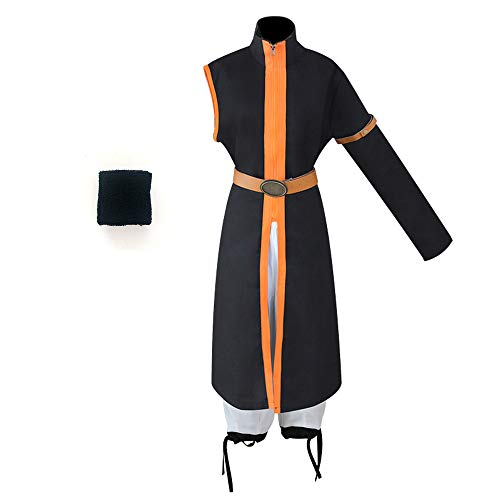Updayday Anime Fairy Tail Etherious Natsu Dragneel Cosplay Disfraz Halloween Carnaval cmic Uniforme Traje para Mujeres Hombres Conjunto Completo
