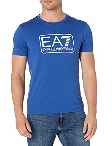 Emporio Armani EA7 T-Shirt Uomo Mod. 8NPT10 PJNQZ 1570 Royal
