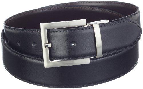 Mgm - Ceinture - Homme - Noir (Schwarz Mit Braun) - Taille Fournisseur: 120 Cm