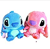 agzhu 2 Piezas de Gran tamaño 65Cm Anime Lilo y Stitch Juguetes de Peluche Stitch muñeco de Peluche Juguetes de Peluche para niños muñeca Gigante