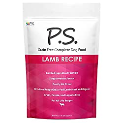 P.S For Dogs Lamb Recipe