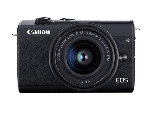 Canon EOS M200 EF-M 15-45mm is STM Kit (Black) (Renewed)