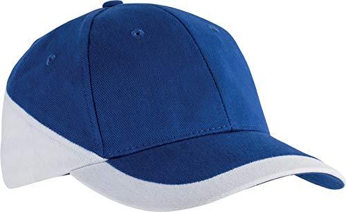 Racing - Casquette Bicolore 6 Panneaux - Royal Blue/White, One Size, Unisexe
