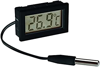 Velleman PMTEMP2 Digital Panel Mount Thermometer, Multi-Colour