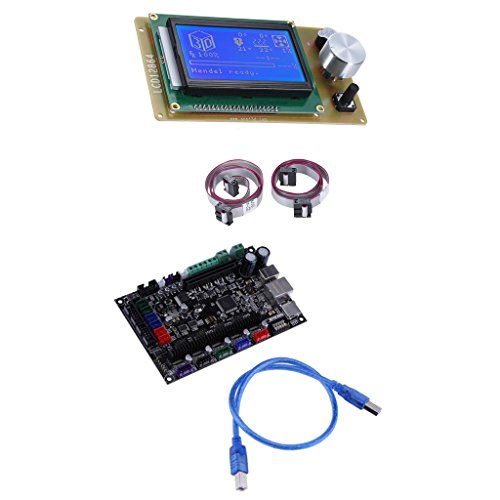 IPOTCH 32bit 3D Printer Controller Board MKS SBASE V1.3 Open Source MCU-LPC1768 & 12864 Screen Controller