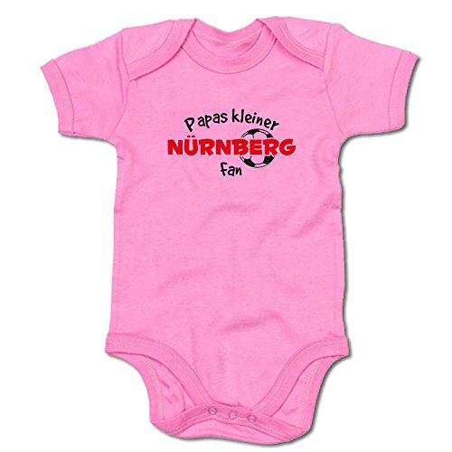 G-graphics Papas Kleiner Nürnberg Fan Baby-Body (250.0252) (6-12 Monate, pink)