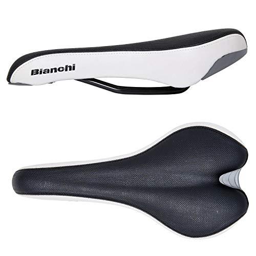 Bianchi Vapor fietszadel zwart/wit MTB toeren trekking cross fiets zadel