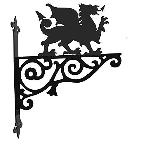 Steel Images Wandhalterung, Motiv: walisischer Drache