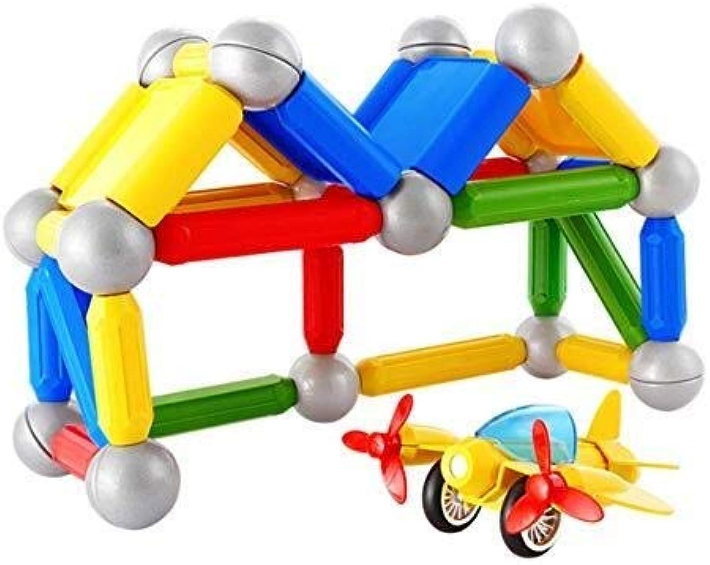QNDYDB Bausteine Jungen Und Mdchen Kreative Bildung Geschenke  Magnetische Bausteine Lose Magnetbaugruppe  Kindergeschenke 99St