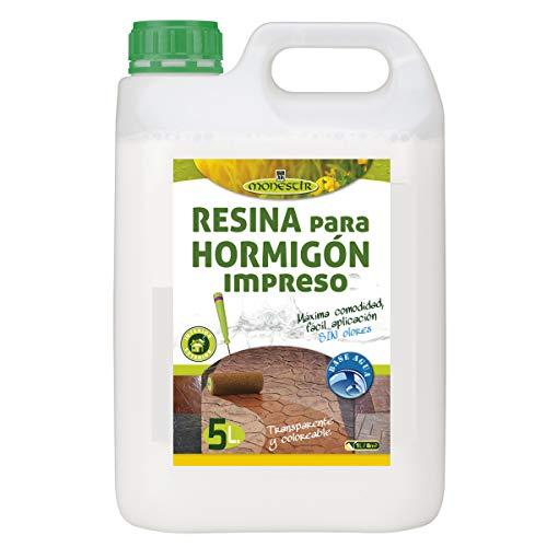 RESINA HORMIGON IMPRESO (Fórm. Agua) - 5L MONESTIR