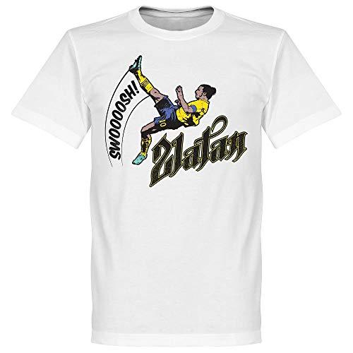 Zlatan Ibrahimovic Bicycle Kick T-Shirt - weiß - L