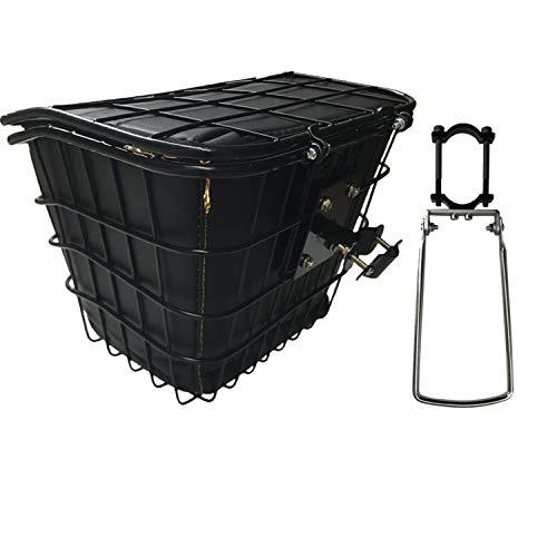 Scooter eléctrico para adultos, cesta + bolsa de revestimiento, acero inoxidable, resistente...