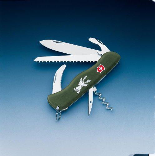 Victorinox-Couteau Suisse de poche Victorinox Hunter OD 0.8873.4 - 13 Fonctions