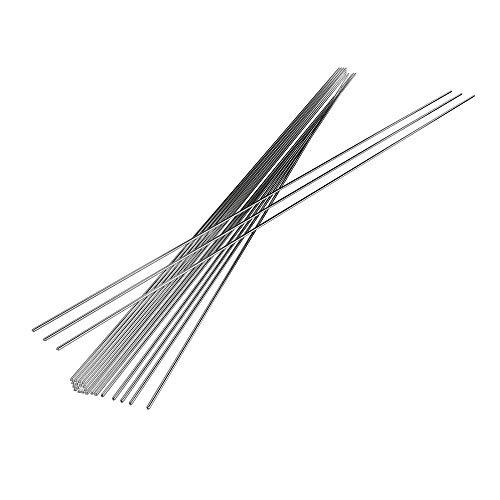 Varillas De Soldadura De Aluminio TIG Varillas De Soldadura De Baja Temperatura Varillas De Soldadura Con Núcleo De Fundente Al Electrodos De Relleno (1.6mm-50pcs)