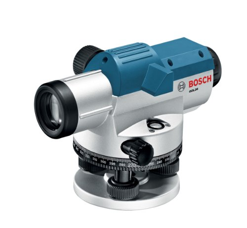 BOSCH 26x Optical Level Kit with Tripod and Rod GOL26CK
