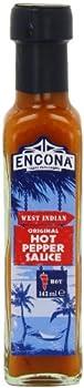 Encona West Indian Original Hot Pepper Sauce 142 ml  Pack of 6