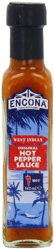 encona West Indian Original Hot Pepper Sauce 142ml (6Stück)