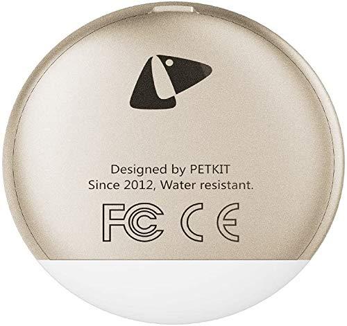 PETKIT(ペットキット) 「FIT P2」 ペット専用アクティビティモニター ゴールド