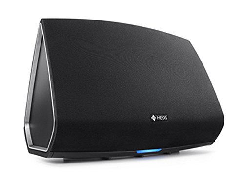 Heos 5 Audio-Streaming Lautsprecher Denon Multiroom (Spotify Connect, Deezer, Tidal, Soundcloud, NAS, WLAN, USB, Appsteuerung, Aux-In) schwarz