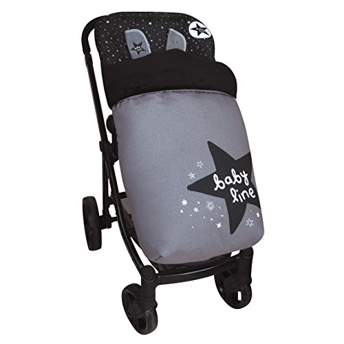 Saco de Bebé Universal Silla Polar COMPLETO + Cubre Arnés de regalo, desmontable, tejido trasero 3D
