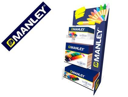 Manley- Exp 30 Uds 10/15/24 Ceras, Multicolor (MNC00101) , color/modelo surtido