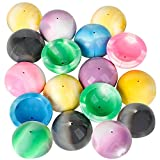 ArtCreativity Marble Rubber Poppers for Kids, Pack of 12, Pop-Up Half Ball Toys with Marbled Designs, Old School Retro 90s Toys, Birthday Party Favors and Treat Bag Fillers, Fun Assorted Colors