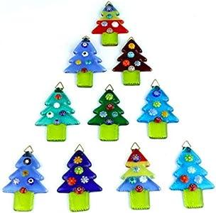Árbol de Navidad – Mezcla de colores – cristal de Murano Navidad