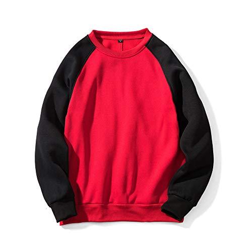 Ein vielseitiger Paarpullover für Jungen und Mädchen, Paar Langarmpullover, Sweatshirts, Rundhalspullover, einfache Pullover, mehrfarbige vielseitige Mäntel, lockere und vielseitige Paare