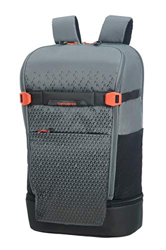 Samsonite Hexa Packs Laptop Backpack Large Travel Rucksack 50 cm 22 Liter Grey Print