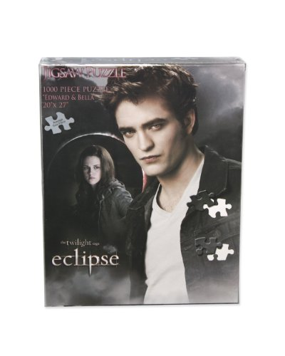 Twilight Eclipse Jigsaw Puzzle (Edward and Bella in the Moon)