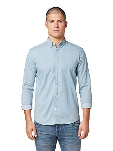Ray Fine Basic Camicia Casual Uomo TOM TAILOR Men