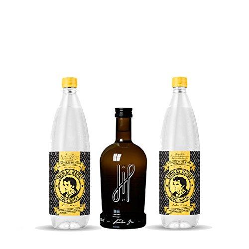 Hoos London Gin Paket - 2x Thomas Henry 1L Tonic Water + Hoos London Dry Gin - Gin Set
