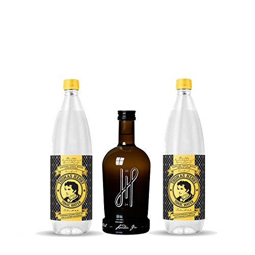 Hoos London Gin Paket - 2x Thomas Henry 1L Tonic Water + Hoos London Dry Gin - Gin Set