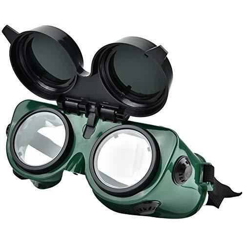 Regalo de verano Seguridad para soldar Protección ocular Gafas de soldar Gafas protectoras, Gafas de soldador, Gafas protectoras de soldadura