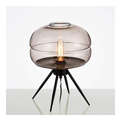 AMYHY Moderne tafellampen, industriële amateurlampen voor nachtkastjes, salontafel, studeerbureau, in de slaapkamer, logeerkamer, E27 (zonder lichtbron)