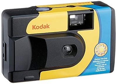 Kodak SUC Daylight 39 800ISO Disposable Analog Camera, Yellow/Blue from